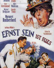 German poster for The Importance of Being Earnest (1952) (1)