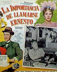 Mexican lobby card from The Importance of Being Earnest (1952) (1)