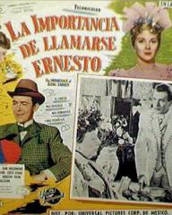 Mexican lobby card from The Importance of Being Earnest (1952) (2)