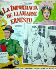 Mexican lobby card from The Importance of Being Earnest (1952) (3)