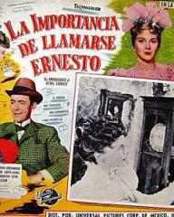 Mexican lobby card from The Importance of Being Earnest (1952) (4)