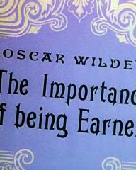 Main title from The Importance of Being Earnest (1952)