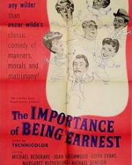 Poster for The Importance of Being Earnest (1952) (1)