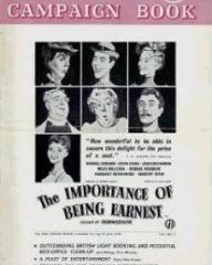 Poster for The Importance of Being Earnest (1952) (3)