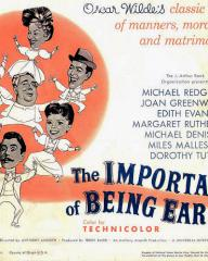 Poster for The Importance of Being Earnest (1952) (5)