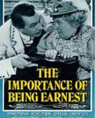 Video cover from The Importance of Being Earnest (1952) (1)