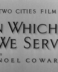 Main title from In Which We Serve (1942)