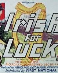Poster for Irish for Luck (1936) (1)