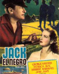 Poster for Jack, el Negro [Black Jack] (1950) (1)