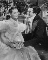 Patricia Roc (as Dilys) and Dermot Walsh (as Barney Hatton) in a photograph from Jassy (1947) (6)