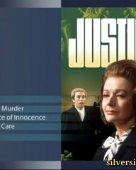 Menu for the Justice Season 3 DVD from Network