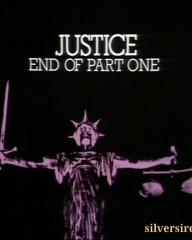 End of part one card from Justice season 3