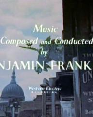 Main title from A Kid for Two Farthings (1955) (7).  Music composed and conducted by Benjamin Frankel.  Western Electric recording