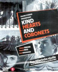 Dutch DVD cover of Kind Hearts and Coronets (1949) (1)