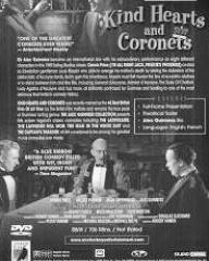 DVD cover of Kind Hearts and Coronets (1949) (2)