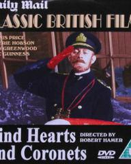 DVD cover of Kind Hearts and Coronets (1949) (4)