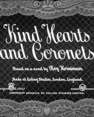Main title from Kind Hearts and Coronets (1949)