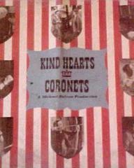 Poster for Kind Hearts and Coronets (1949) (3)