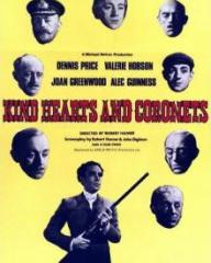 Poster for Kind Hearts and Coronets (1949) (4)