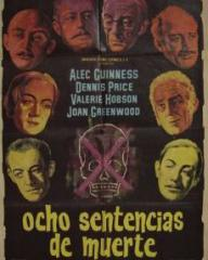 Spanish poster for Kind Hearts and Coronets (1949) (1)