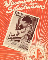 German poster for Knave of Hearts (1954) (1)