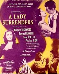 Poster for A Lady Surrenders [Love Story] (1944) (1)
