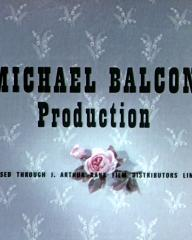 Main title from The Ladykillers (1955) (3).  Michael Balcon Production.  Released throigh J Arthur Rank Film Distributors Limited