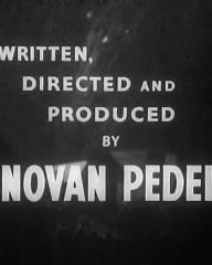 Main title from Landslide (1937) (4).  Written directed and produced by Donovan Pedelty