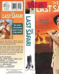 Stewart Granger (as Miles Gilchrist) in a video cover from The Last Safari (1967) (1)