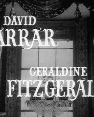 Main title from The Late Edwina Black (1951) (2)  David Farrar Gerladine Fitzgerald