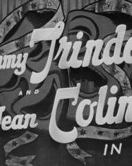 Main title from Laugh It Off (1940) (2). Tommy Trinder and Jean Colin in