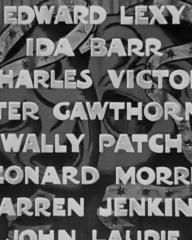 Main title from Laugh It Off (1940) (7). Edward Lexy, Ida Barr, Charles Victor, Peter Gawthorne, Wally Patch, Leonard Morris