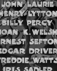 Main title from Laugh It Off (1940) (8). John Laurie, Henry Lytton Jr, Billy Percy, Joan Kemp-Welsh, Ernest Sefton, Edgar Driver