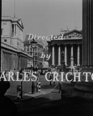 Opening credits from The Lavender Hill Mob (1951) (13). Directed by Charles Crichton