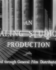 Opening credits from The Lavender Hill Mob (1951) (2). An Ealing Studios production