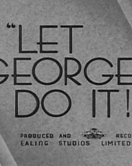 Main title from Let George Do It! (1940)
