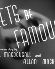 Main title from Let's Be Famous (1939) (3)