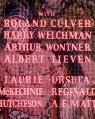 Main title from The Life and Death of Colonel Blimp (1943) (7).  With Roland Culver Arthur Wontner, Albert Lieven, Ursula Jeans