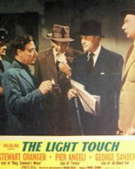 Lobby card from The Light Touch (1952) (1)