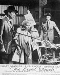 Lobby card from The Light Touch (1952) (2)