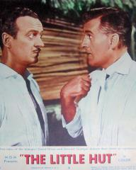 Lobby card from The Little Hut (1957) (2)
