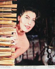 Ava Gardner (as Lady Susan Ashlow) in a photograph from The Little Hut (1957) (5)