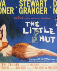 Poster for The Little Hut (1957) (3)