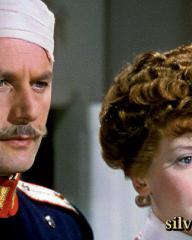 Roger Livesey (as Clive Dandy) and Deborah Kerr in The Life and Death of Colonel Blimp (1943)