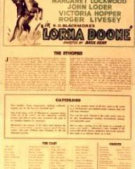 Poster for Lorna Doone (1934) (2)