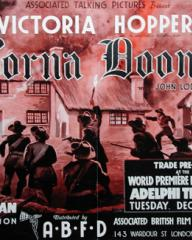Poster for Lorna Doone (1934) (3)