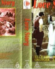 Australian video cover from Love Story (1944) (1)