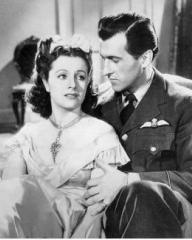 Margaret Lockwood (as Lissa Campbell) and Stewart Granger (as Kit Firth) in a photograph from Love Story (1944) (1)