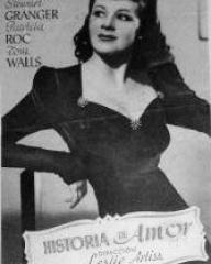 Spanish poster for Love Story (1944) (2)