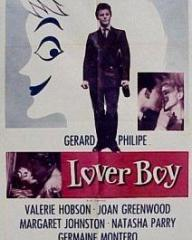 American poster for Lover Boy [Knave of Hearts] (1954) (1)